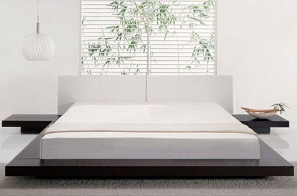 Contemporary style platform bed similar to Jennifer Aniston's