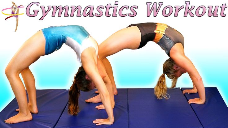 Flexibility Stretches & Lean Strong Arms Workout For Dance, Gymnastics &...