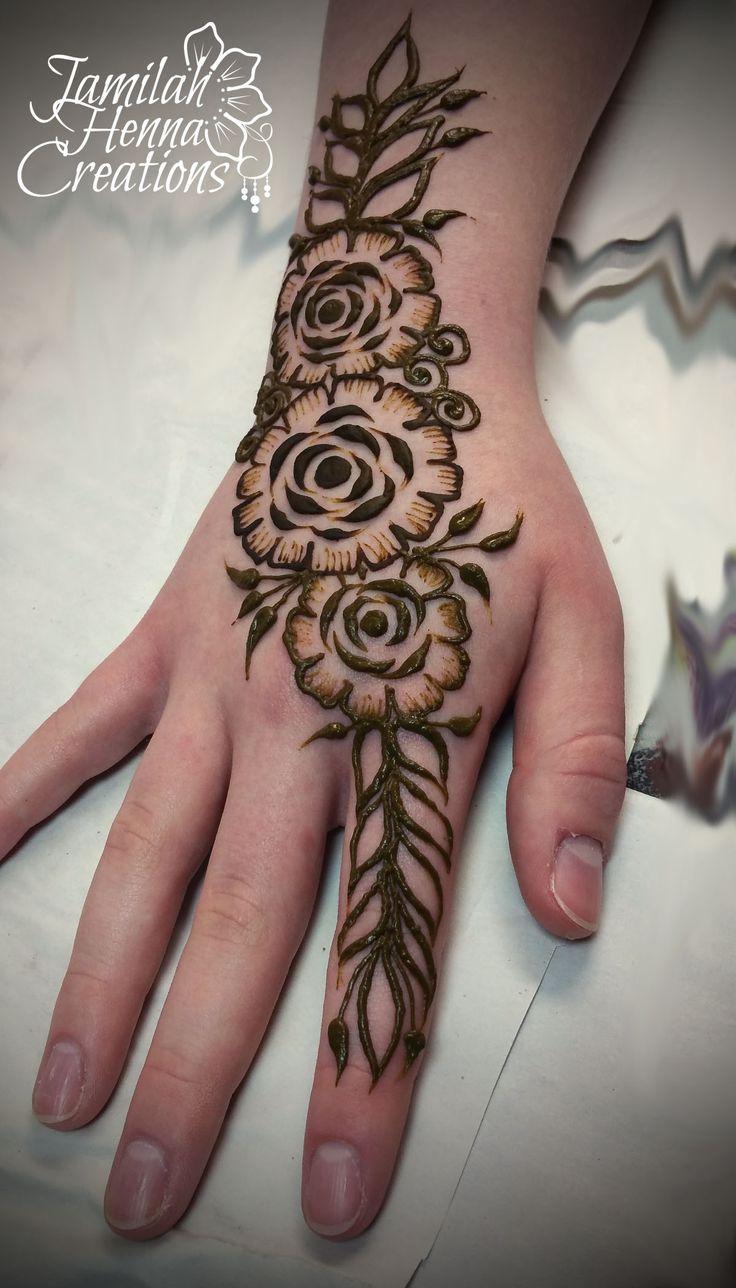 gulf rose henna www.jamilahhennacreations.com