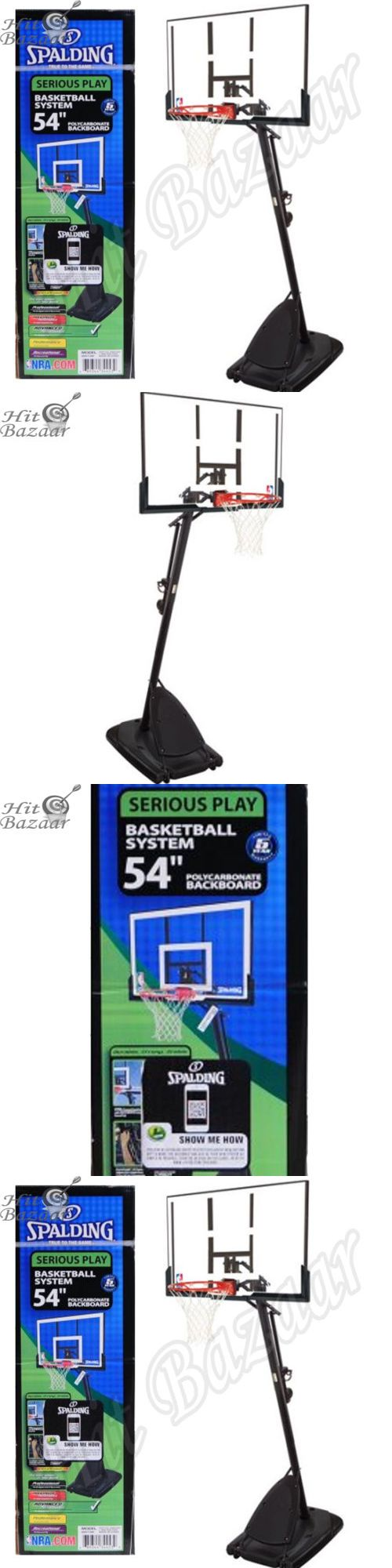 Backboard Systems 21196: Portable Basketball System Adjustable Hoop Backboard Outdoor Indoor Net Pole -> BUY IT NOW ONLY: $488 on eBay!