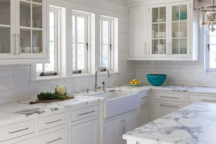 calcutta marble kitchen counter