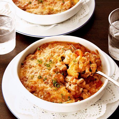 チキンときのこのトマトドリア | 窪田好直さんのグラタン・ドリアの料理レシピ | プロの簡単料理レシピはレタスクラブニュース