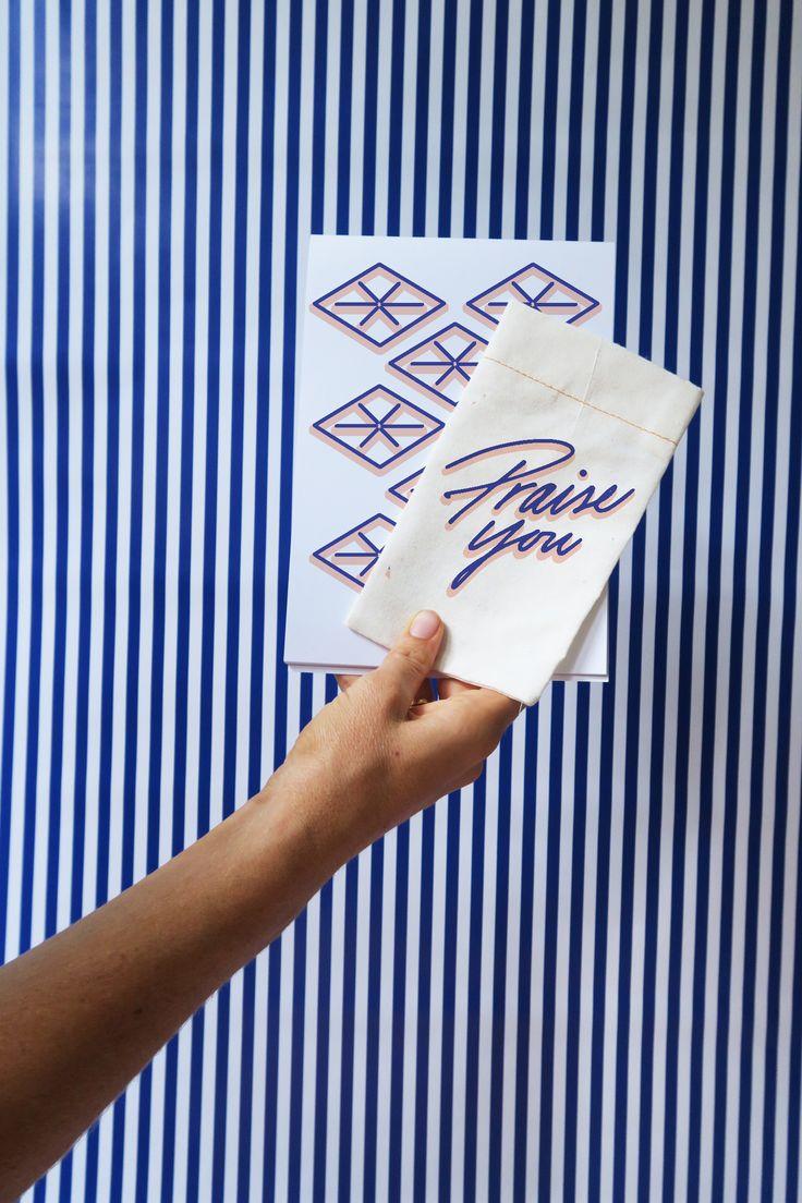 Praise You logo designed by Cherie Allan - @designbycherie - cherieallan.design