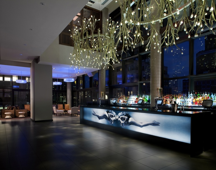 #Gansevoort Park Avenue Rooftop Bar and Lounge