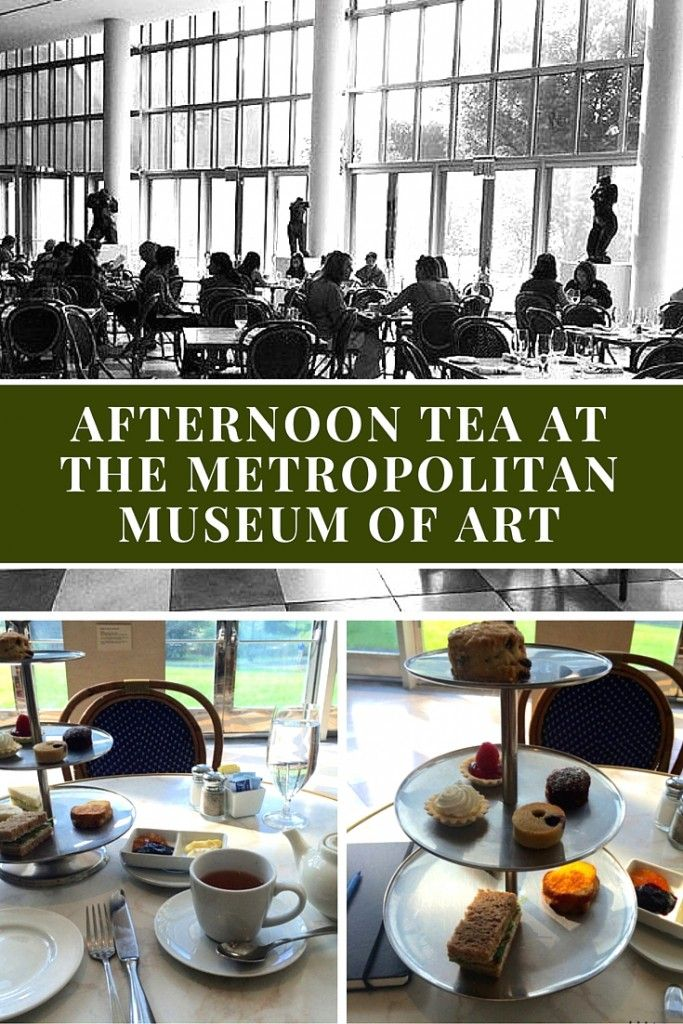 Review of Afternoon Tea at the Metropolitan Museum of Art in New York City