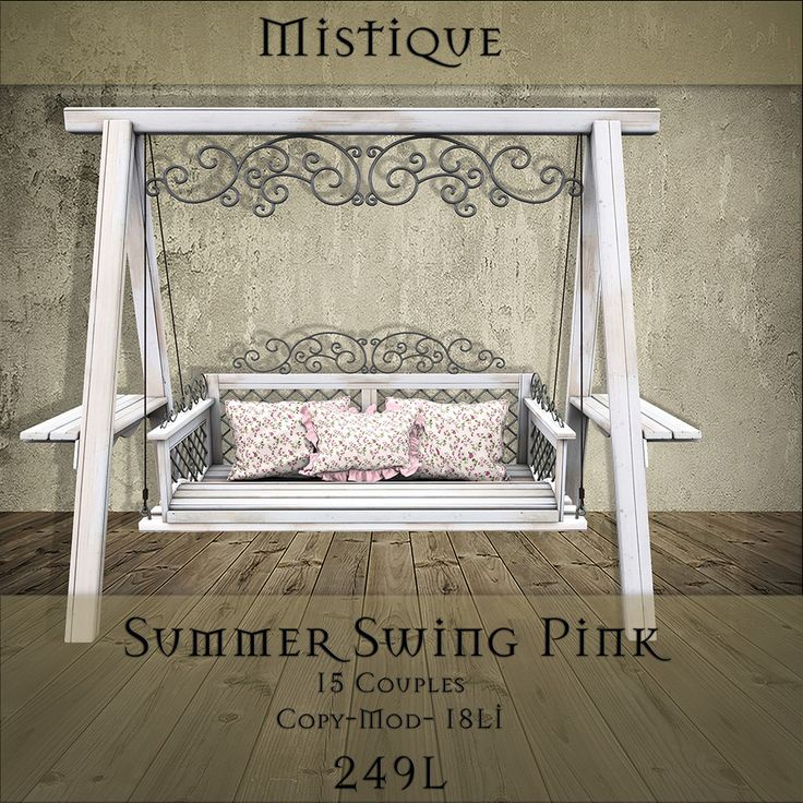 https://flic.kr/p/SKtwkk | [M] Summer swing PinkAD | @ Fantasy Fair 2017- starts the 20th! maps.secondlife.com/secondlife/Mudrana/47/81/44