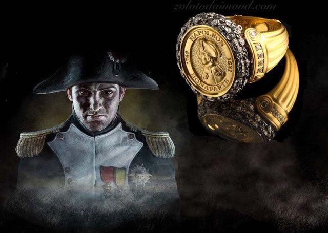 Мужской перстень - Золотой Дом