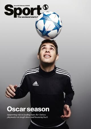 Sport magazine 437  In this week's Sport: Chelsea's Brazilian star Oscar says his side can turn their torrid season around and challenge for the Champions League | England speedster Anthony Watson reflects on tattoos, psychology and his quest for Six Nations glory | Six Nations Diary: all the standout stats, performances and stories from the opening weekend | Leicester defender Danny Simpson on the attitude that has sent his side to the top of the Premier League | Welsh rugby player Jake…