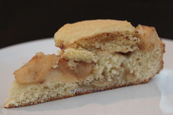 Sencilla y deliciosa receta de kuchen de manzana para cualquiera ocasión.