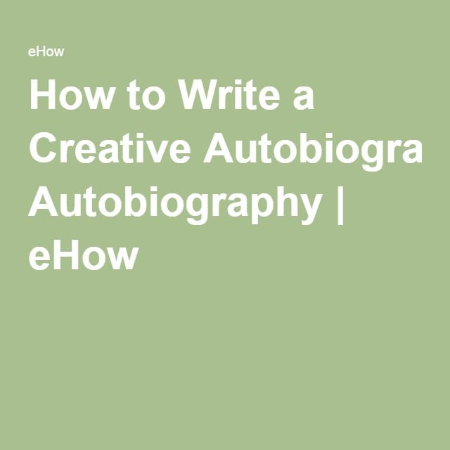 194 best Autobiography images on Pinterest Handwriting ideas - autobiography template