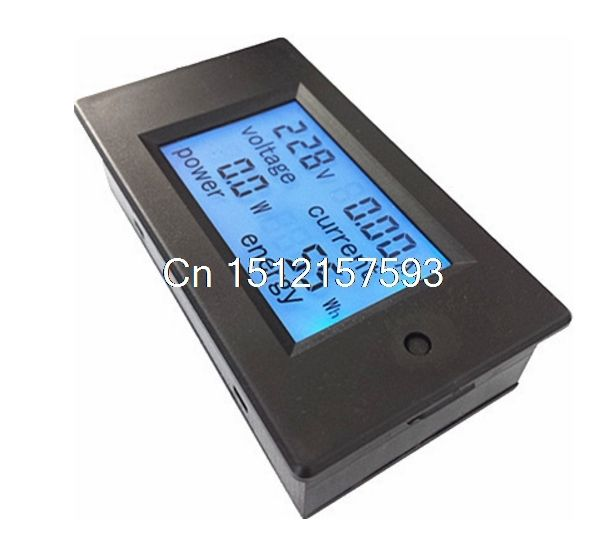 16.28$  Buy now - http://aliosj.shopchina.info/go.php?t=32805171398 - 110-220V LCD Digital Measure 80~260VAC 100A 22KW 9999kWh Voltage Current Power Energy Voltmeter Ammeter + CT Current Transformer  #magazineonlinebeautiful
