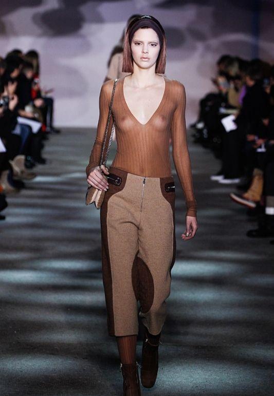 Nude Models Fashion Milan Photoshoot