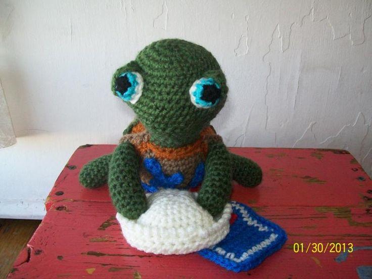 Amigurumi Turtle~ Baby Shelly