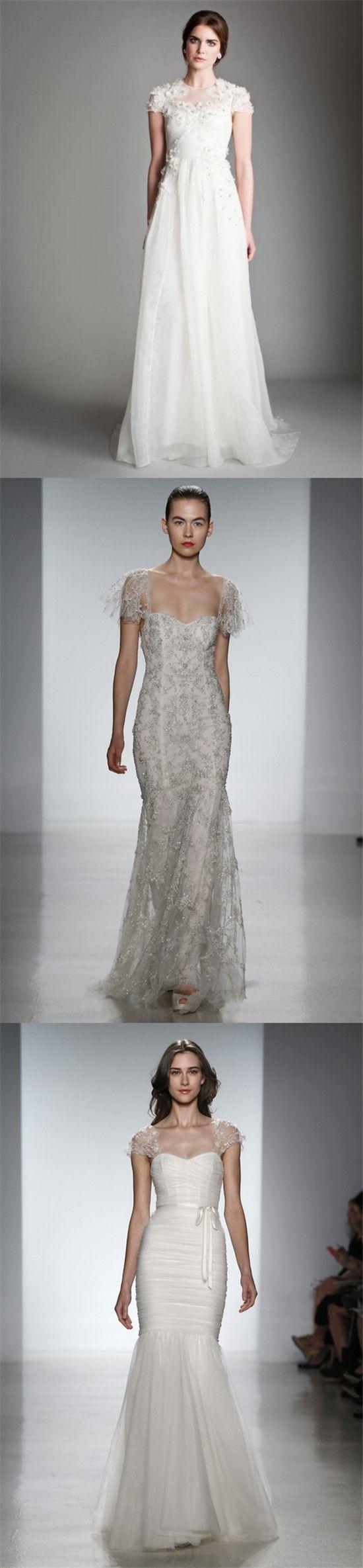 about Robe de mariée de créateur on Pinterest  Oscar de la Renta ...
