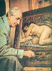 İbrahim Çallı (1882-1960): Turkish painter. http://www.msxlabs.org/forum/sanat-tr/15136-ibrahim-calli.html