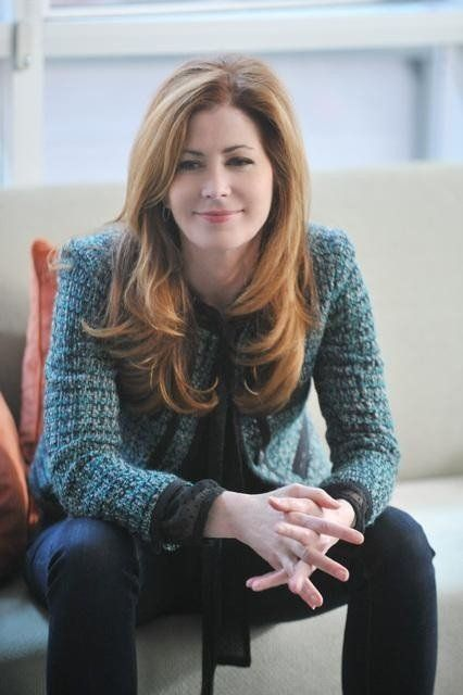 Dana Delany   I know that her hair is more brown....but i swear i see a red tint to it. and as Katherine Mayfair she was redheaded.                                                                                                                                                                                 More