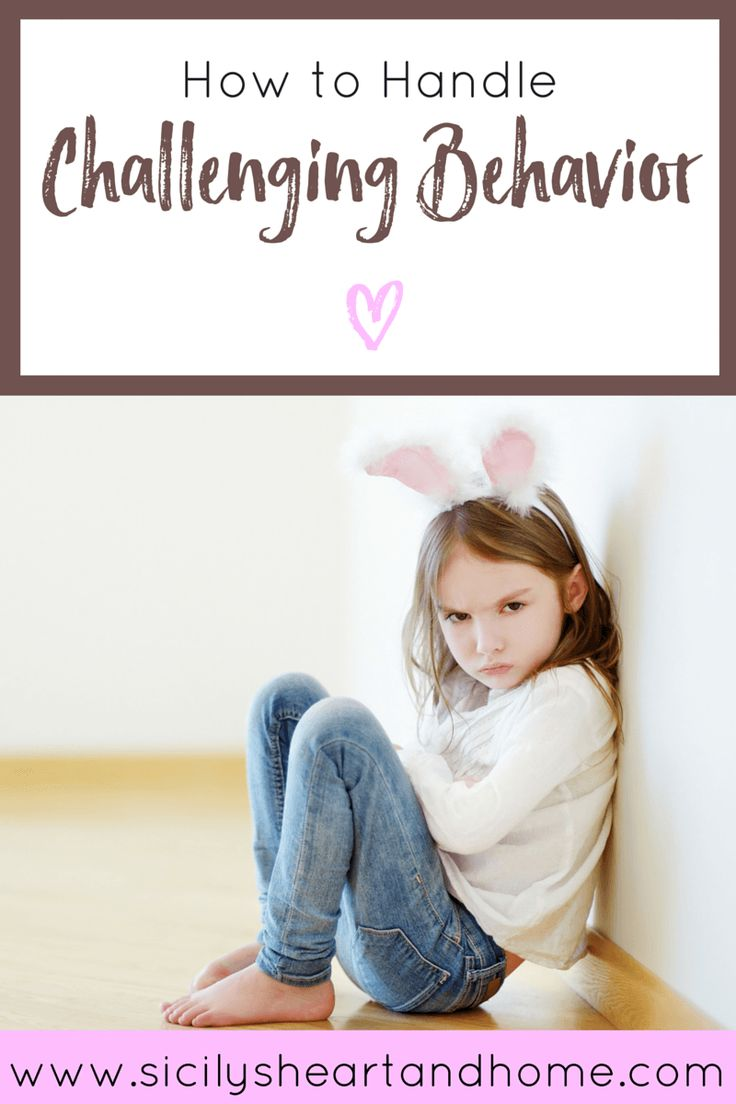 How to Handle Challenging Behavior | Do you have a preschooler who just isn't listening? Does she refuse to do what you ask? Does he not follow your directions or throw a tantrum? In this post, I give hands on activities to approach for challenging behaviors such as building a connection and social stories. Click over to the post for more ways to deal with behavior or pin for later.