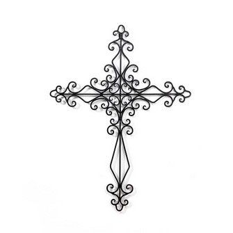 Wall Crosses | Metal Wall Cross - Ornate Budded [MWC-105] - $40.99 : Find Christian ...