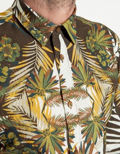 PRINTED SHIRT - Shirts - Man - ZARA United Kingdom