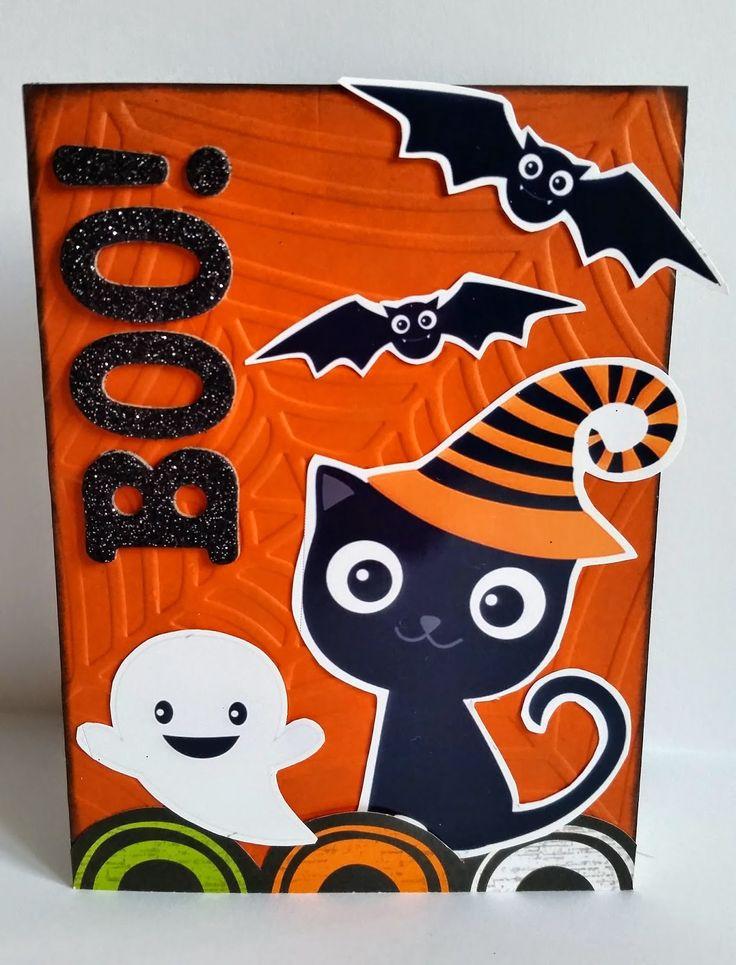 Mad Scrap Project: Halloween con Bangaboo Scrap #scrapbooking #halloween