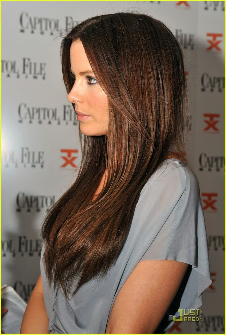 Warm chocolate brown hair color I have this color so why don't I look ...
