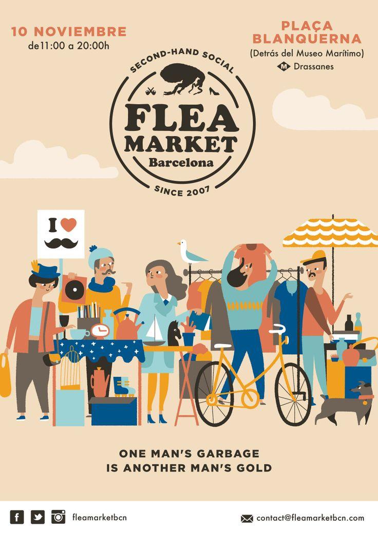 November Flea Market. Bea R Vaquero