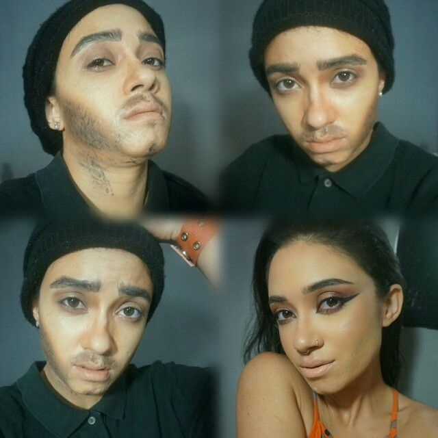 Female to Male Makeup  Woman to Man makeup  Makeup Transformation Makeup Artistry Makeup by Teaze-Anne
