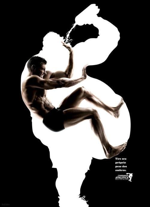 Affiche - Obésité vs Sport