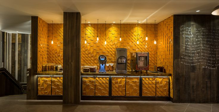 Tejo tiles at Nando's Old Street | Theia creative tiles – www.theiatiles.com | 100% Portuguese handmade ceramic tiles for surfaces and interior decoration design projects | Yellow | Ceramics