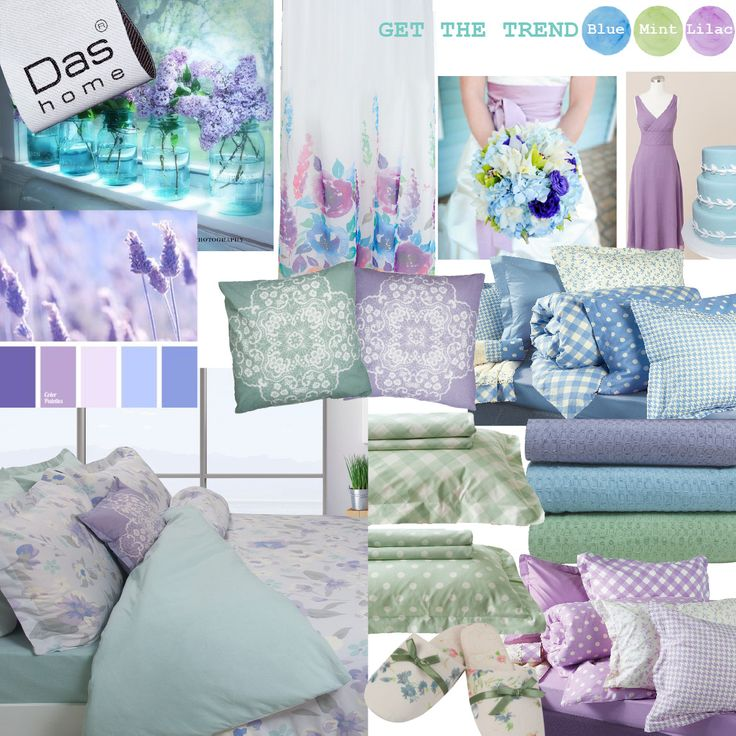 Get the Trend!!  mint, blue , lilac .. by Das home !!