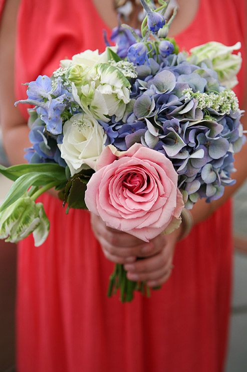 86 best flower arrangements and centerpieces images on for Pink and blue flower arrangements