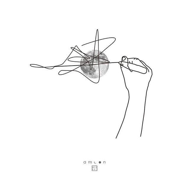 moon `66 _ line art  dan itu bukan apa apa  #wip #visualart #amoon #project #poster #design #graphic #ilustration #moon