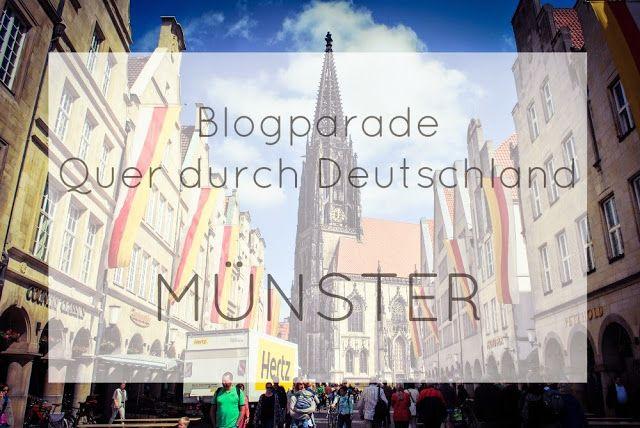 Blogparade: Quer durch Deutschland - Münster