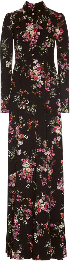 Dolce & Gabbana Floral Print Button Down Abaya Dress #ad #promotion Dolce and Gabbana's abaya dress features a floral print long sleeves and a floor-length hem. Style yours with a pair of sandals.;Dolce and Gabbana's abaya dress features a floral print long sleeves and a floor-length hem. Style yours with a pair of sandals.