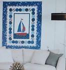 "Quilt Kit~RJR Splash Ahoy Quilt Kit~ 48"" x 60"" Pattern/Fabric~Top/Binding"
