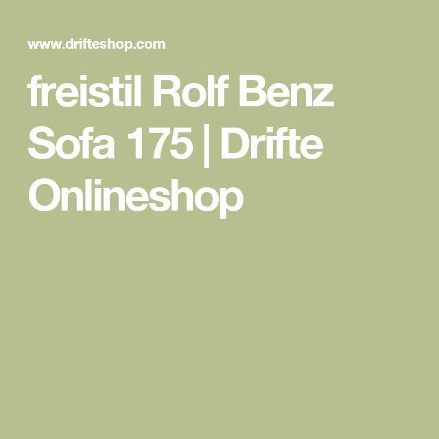 freistil Rolf Benz Sofa 175 | Drifte Onlineshop