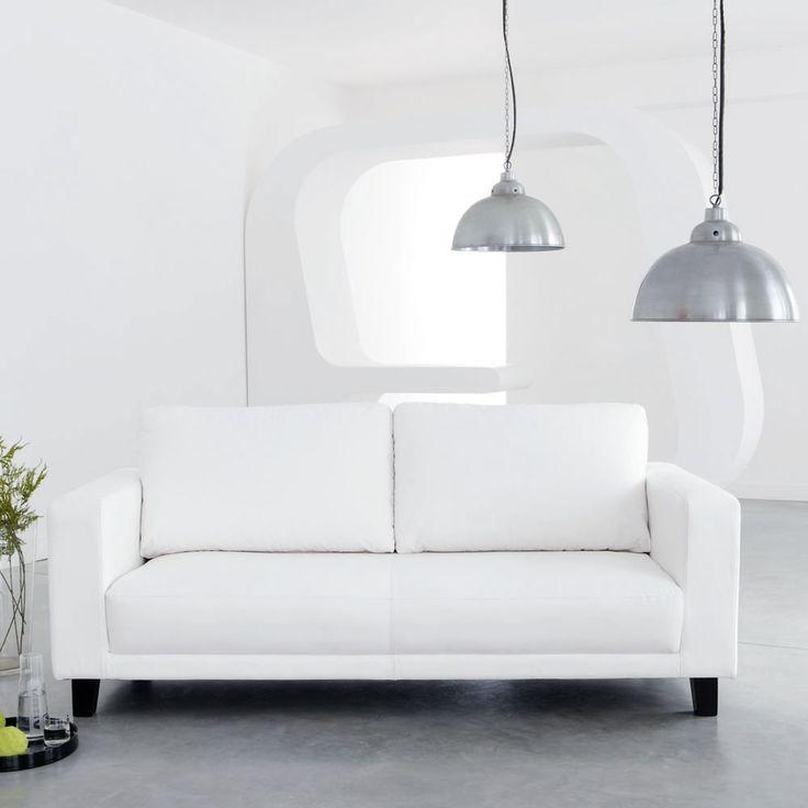 Lampada a sospensione in metallo spazzolato D 38 cm FACTORY | Maisons du Monde