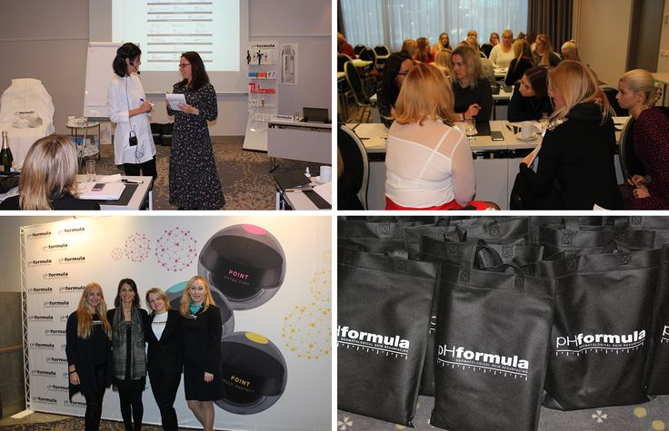 Congratulations to our pHformula team in Tallin, Estonia on a successful launch of POINT to advanced skin specialists with Susanna Porras, pHformula's International Educator #POINT #Estonia #makeadifference