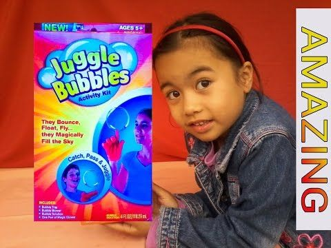 how to make juggle bubbles at home