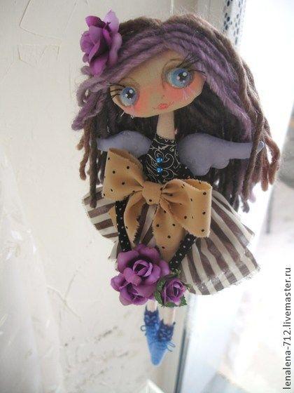 Коллекционные куклы ручной работы. Ярмарка Мастеров - ручная работа Именины у Кристины...интерьерная кукла. Handmade.