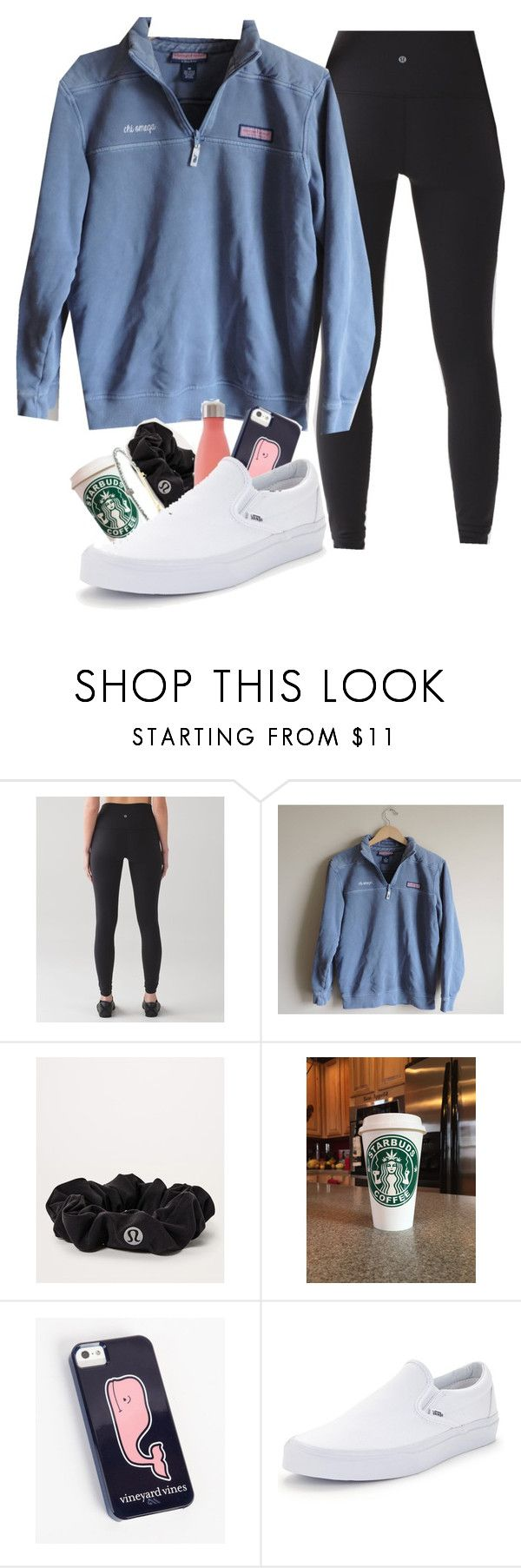 """""""hey should i get these shoes??"""" by lorla3407 on Polyvore featuring lululemon and Vans"""