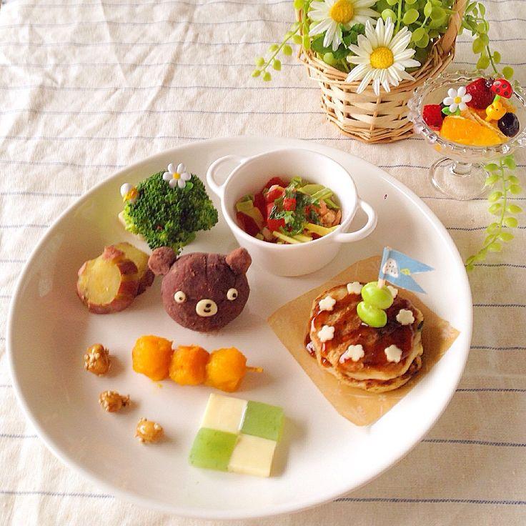 なほ's dish photo 息子ごはん  歳 絵本の世界風 | http://snapdish.co #SnapDish #キャラ弁 #朝ご飯 #離乳食/幼児食