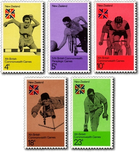 Commonwealth Games 1974 stamps