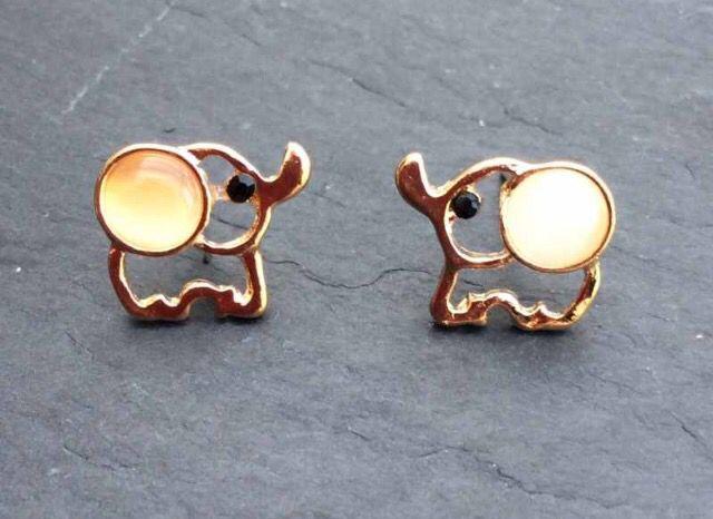 Cute Gold Plated Elephant Stud Earrings #cute #elephant #animals #gold #earrings #studearrings #christmas #xmas #present http://m.ebay.co.uk/itm/Free-Gift-Bag-Gold-Plated-Elephant-Stud-Earrings-Ladies-Jewellery-Xmas-Animals-/282138656361?nav=SELLING_ACTIVE