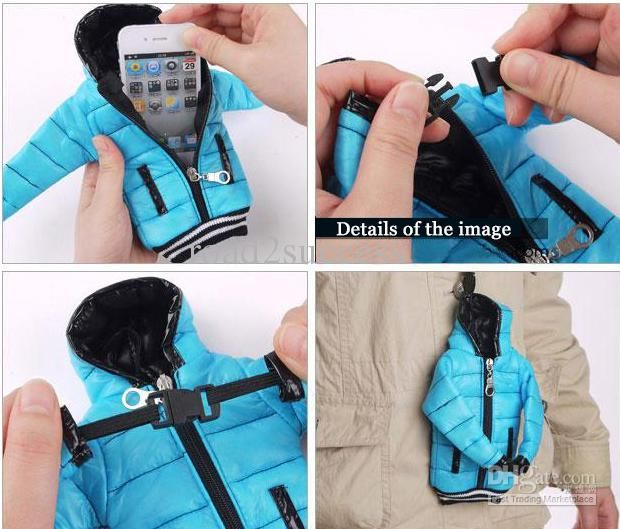 Wholesale Colorful down Jacket pouch case for Iphone 5S 5C 5G coat case for Christmas 5pcs/lot, Free shipping, $4.81/Piece | DHgate Mobile
