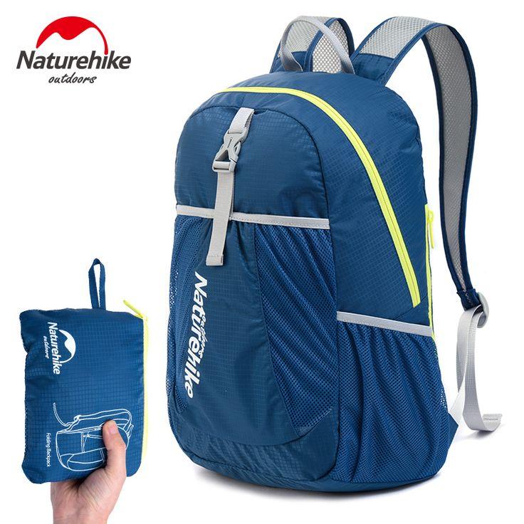 NatureHike Homens Do Esporte Mochila de Viagem Mochila Mulheres Mochila Mochilas Escolares Sacos 22L Ultraleve Lazer Ao Ar Livre 5 Cores