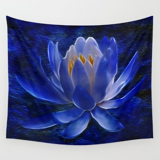 Waterlily Wall Tapestry - Society6