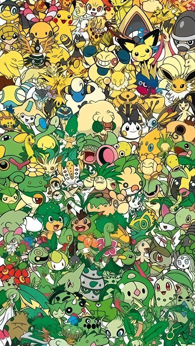Awesome Pokemon Collection Wallpaper (7). Tap for more