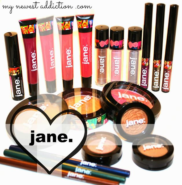 Jane Cosmetics, It's Back And Better Than Ever! - My Newest Addiction Beauty Blog
