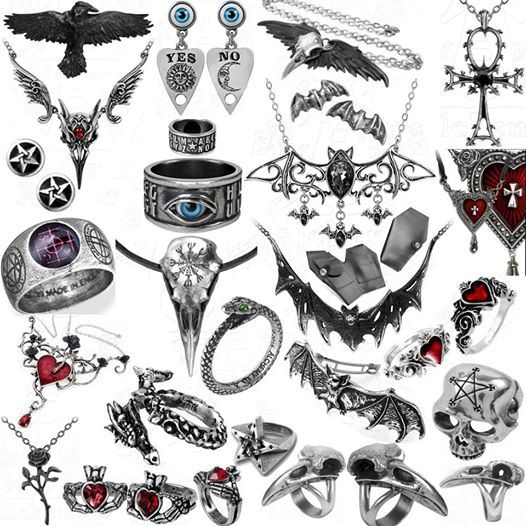 New Alchemy jewelry items at Ipso Facto's Fullerton, CA store and www.ipso-facto.com